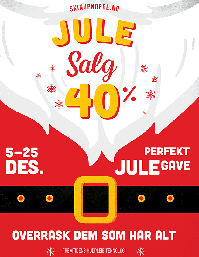 Christmas Sale Skin Up Norge